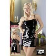 210th Vinyl Mini Dress Black M