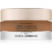 Dolce & Gabbana The Foundation Perfect Luminous Creamy Foundation maquillaje iluminador en crema SPF 15 tono 180 Soft Sable 30 ml