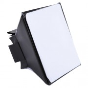 Foldable Soft Diffuser Softbox Cover for External Flash Light Size: 10cm x 13cm