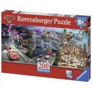 Puzzle Copii 4Ani+ Cars panoramic, 200 piese