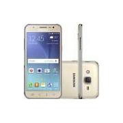 Smartphone Samsung SM-J500 Galaxy J5 Dual Chip Android Tela 5 16GB 3G/4G/Wi-Fi Câmera 13MP - Dourado