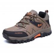 Zapatos TENIS Deportivos Hombre Al Aire Libre Alpinismo Zapatillas -Caqui