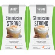 SlimJOY Slimmiccino STRONG 1+1 ZDARMA Chutná káva, které pomáhá spalovat tuky a omezovat apetit Účinek 4 v 1 Obsahuje 2x 10 sáčků, vystačí 20 dní