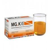 MGK VIS Linea Sali Minerali Polvere Granulare Integratore 14 Buste Gusto Arancia
