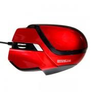Mouse Gamer HardLine Vermelho 2400dpi USB MS26