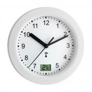 Радио контролируем часовник за баня с термометър - 60.3501