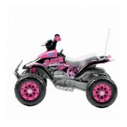 Atv Electric Corral T-Rex Pink Peg Perego