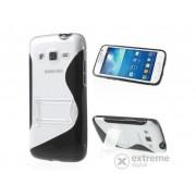 Husă din plastic Gigapack pentru Samsung Galaxy Express 2 (SM-G3815), transparent negru (conform producătorului)