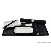 Sushi Teríték - Fekete-fehér 2 személyes