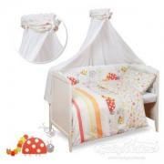 Детски спален комплект, Spring Red 0171, Babymatex, 5902675036115