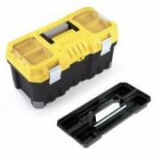 Cutie de scule TITAN Professional - 20 cu inchizatori din aluminiu cu 2 organizatoare transparente pe capac