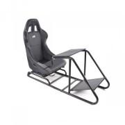 FK-Automotive siège de jeu pour PC et consoles de jeux cuir synthétique noir / gris