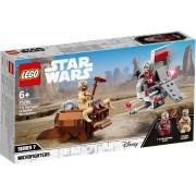 Lego Конструктор Lego Star Wars Микрофайтеры Скайхоппер T-16 против Банты 75265