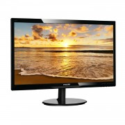 MONITOR LED MULTIMEDIA PHILIPS 246V5LHAB 24'/61CM 16:9 FULLHD 5MS SMARTCONTROL 250CD/M2 VGA HDMI ALTAVOCES 2X2W RMS - NEGRO