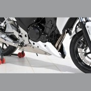 Honda CB500F / CB500X (2013) Belly Pan: Red
