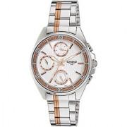 Casio Enticer Silver Dial Womens Watch - LTP-2086RG-7AVDF (A857)