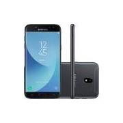 Smartphone Samsung J5 Pro Preto Dual Chip Android 7.0 Tela 5.2 Memória 32GB Câmera 13MP