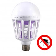 Bec LED 15W si Lampa UV Anti tantari, insecte