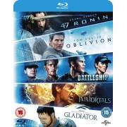 Universal Pictures Oblivion / Battleship / Immortals / Gladiator / 47 Ronin