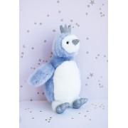 Doudou et Compagnie - Pigloo bleu 30 cm
