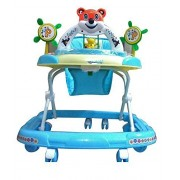 Panda Goyal's Baby Musical Walker - Blue 1 Pcs