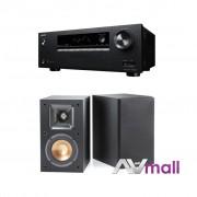 Pachet Receiver AV Onkyo TX-SR373 + Boxe Klipsch Reference R-14M