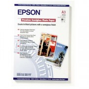 EPSON PREMIUM SEMIGLOSS PHOTO PAPER A3, 251g/m², 20 HOJAS