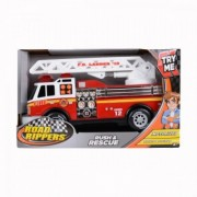Toy State Road Rippers Rush Rescue Masina de pompieri cu scara 34535 (cu sunete si lumini)