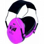 Antifoane externe pentru copii Peltor Kid roz neon
