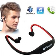 Wireless Bluetooth Headphone BS19 In the Ear Sports Headphones (with Micro Sd Card Slot and FM Radio(Multi-Color)