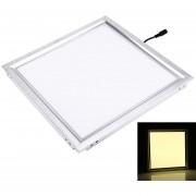 12w 2700k Square Led Panel De Luz De Techo Luz Plana, Ac 110-265v (blanco Calido)