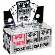 Plastic speelkaarten Texas Hold'em Display - Peek Index - Copag