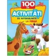 La Ferma - 100 de activitati cu autocolante