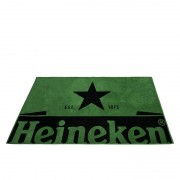 Heineken Get ready for the summer with these Heineken beach towels. A cold beer, a warm day and a large Heineken towel, all the ingredients for a perfect day at the beach.