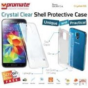 Promate Crystal-S5 ,Crystal Clear Shell