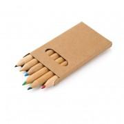 Caja con 6 lápices de color BIRD