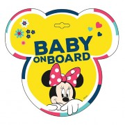 Baby on board jelzés - Minnie
