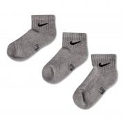 Nike 3 Pack Quarter S Mix 34-38 - Unisex Sokken