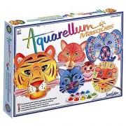 Sentosphere Aquarellum - Animal Masks Magic Art Canvases
