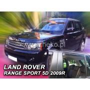 Deflektory komplet 4 ks pre LAND ROVER Range Rover , 2005-
