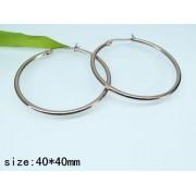 Обеци Danieli изработени от медицинска стомана 316L (DCE14991-40mm)