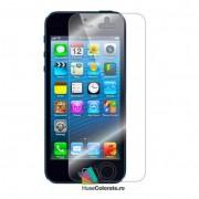Folie Protectie Ecran Apple iPhone 5S / iPhone 5 / iPhone SE / iPhone 5C (Set 1 buc)