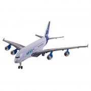 Avion A380 cu baterie, sunete si lumini realiste