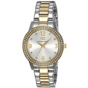 Gio Collection Analog (SILVER) Dial Womens Watch - G2012-44