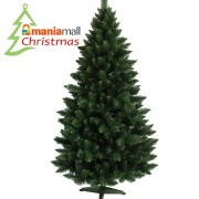 Brad de Craciun Artificial Verde Himalaya 120 cm si Suport Cadou