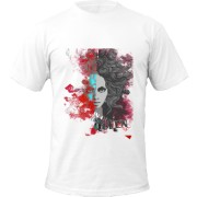 Tricou Abstract Lady Face