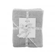 39.95 Baby handduk, Meraki mini, Grå, 100% ekologisk bomull, 80 x 80 cm