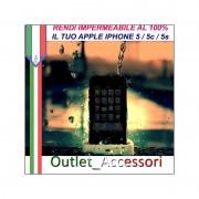 Rendere Impermeabile Apple Iphone 5 IPH7 Idrorepellente Contro Danni Cadute in Acqua Resistente Ossido WATERPROOFING
