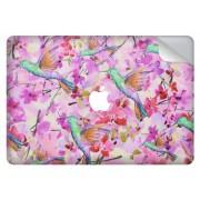 Vogel design sticker voor de MacBook Pro Retina 15.4 inch Touch Bar