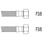 "Racord flexibil apa i-i, F3/8""x F3/8"", 40 cm Techman PWS92"